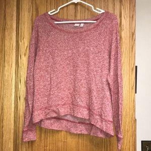 BP red long sleeve shirt